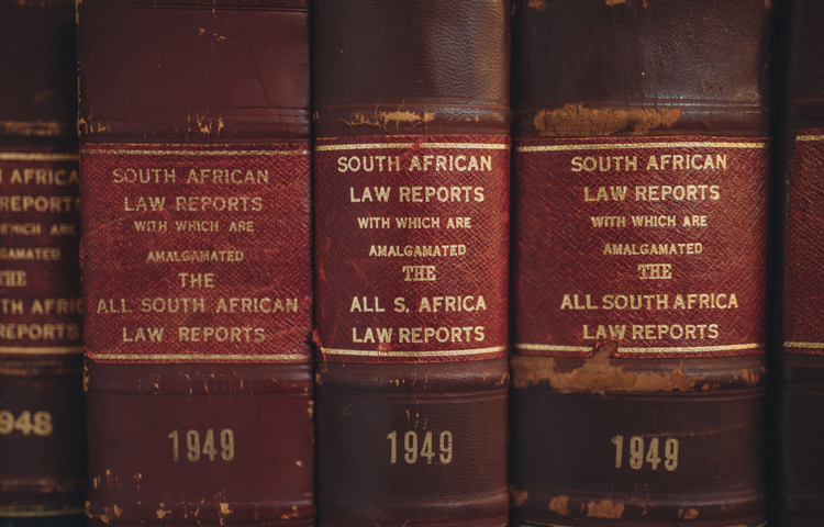 South Africa Law Report books