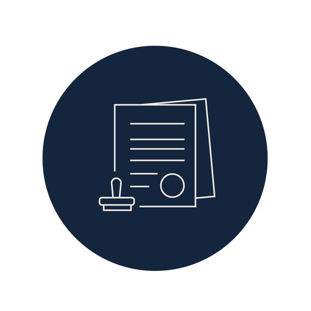 ERB Notarial work icon