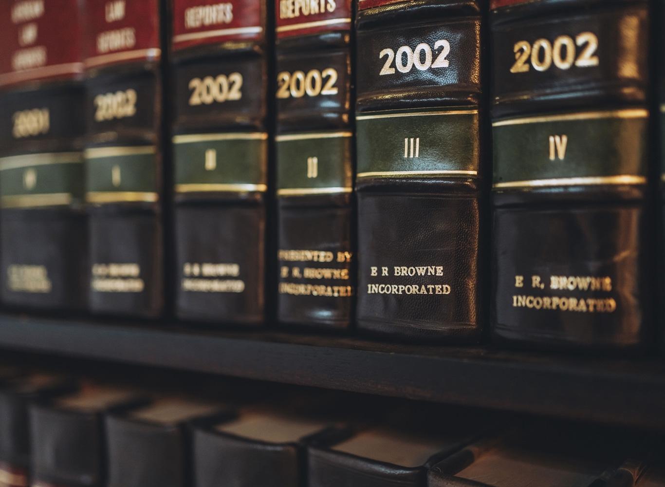 ERB Incorporated legal books